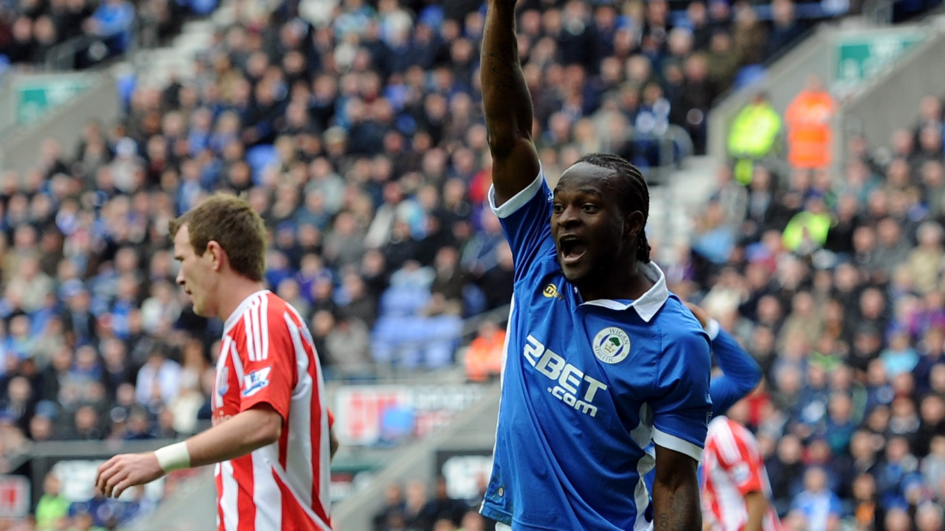 Victor Moses of Wigan