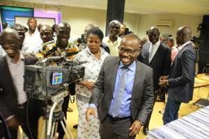 Kwesi Nyantakyi arrival