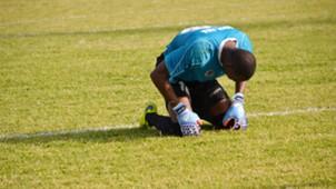 Hearts goalkeeper Soulama Abdoulaye