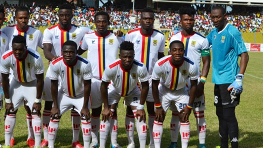 Hearts of Oak squad