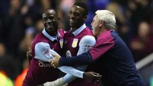 Albert Adomah & Jonathan Kodjia of Aston Villa