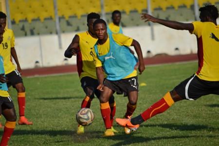Chan 2016 Ghana players training
