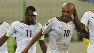 Wakaso Mubarak, Andre Ayew Ghana