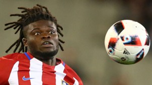 Thomas Partey of Atletico Madrid