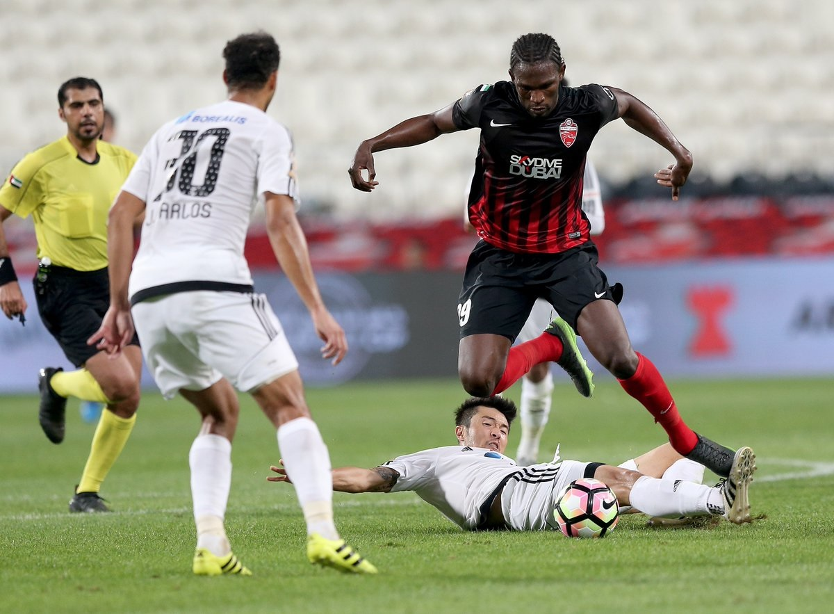 Al Ahli vs. Al Jazira - AGC 09.01.2017
