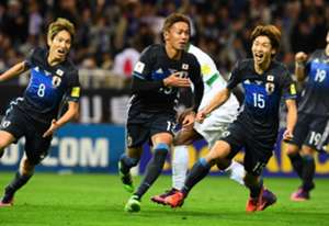 Japan beat Saudi Arabia 2-1 - WC Qualifiers Asia - 15/11/2016