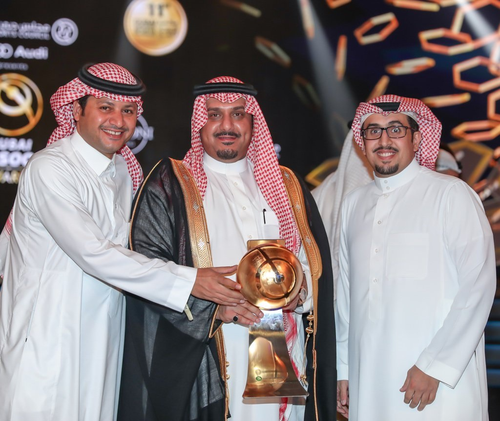 Al Hilal's President, Nawaf bin Musaed - Globe Soccer Award