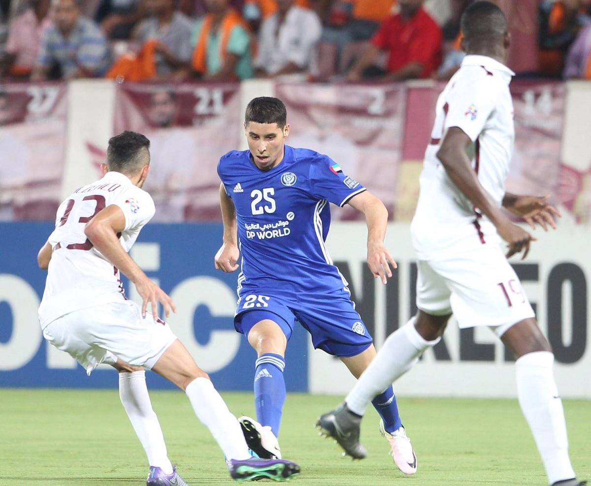 Abdelaziz Barrada - El Jaish vs. Al Nasr game - AFC Champions League 2016