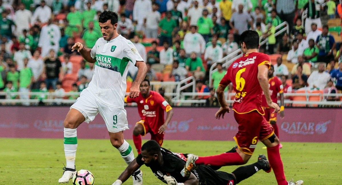 Omar Al Somah - Al Ahli vs. Al Qadesiya - Saudi League 15.10.2016