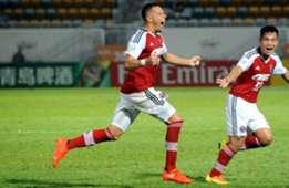AFC cup quarter final first leg, South China 1:1 Johor FC