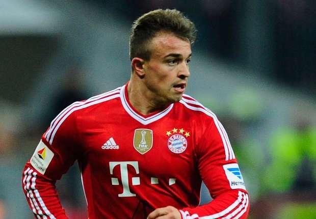 Shaqiri pediu para deixar o Bayern de Munique, mas clube quis que ele ficasse
