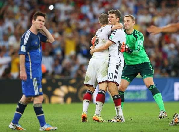 世界盃決賽德國阿根廷全數據統計
