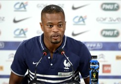 France defender Patrice Evra