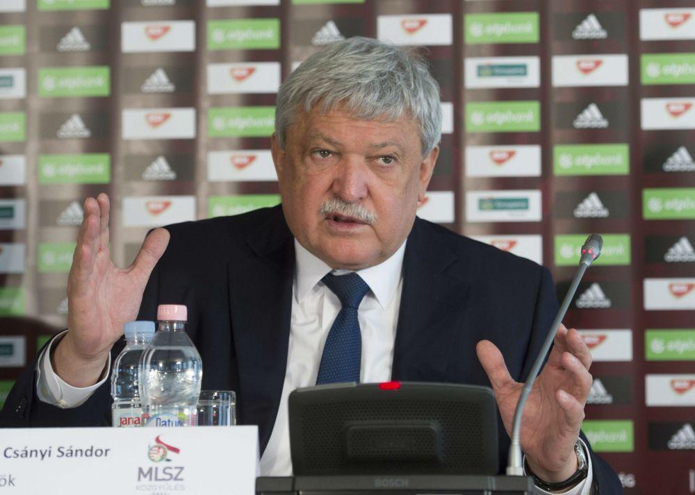 Csányi Sándor MLSZ