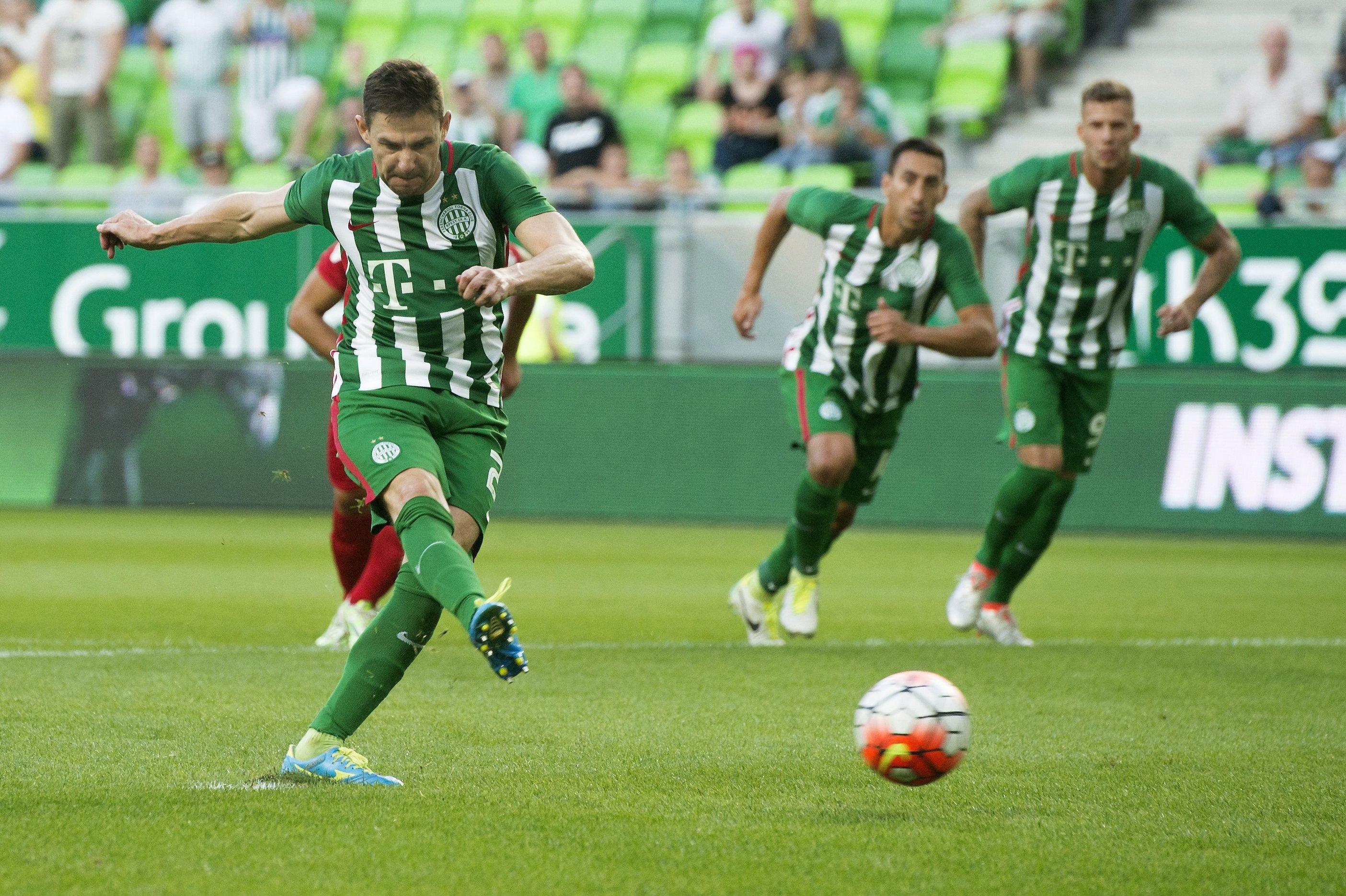 Ferencváros Partizani Gera Zoltán penalty