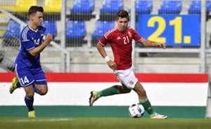Mervó Bence Hungary U21 4-0 Liechtenstein U21