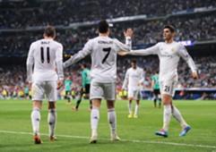 Gareth Bale Cristiano Ronaldo Álvaro Morata