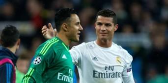 Keylor Navas Cristiano Ronaldo