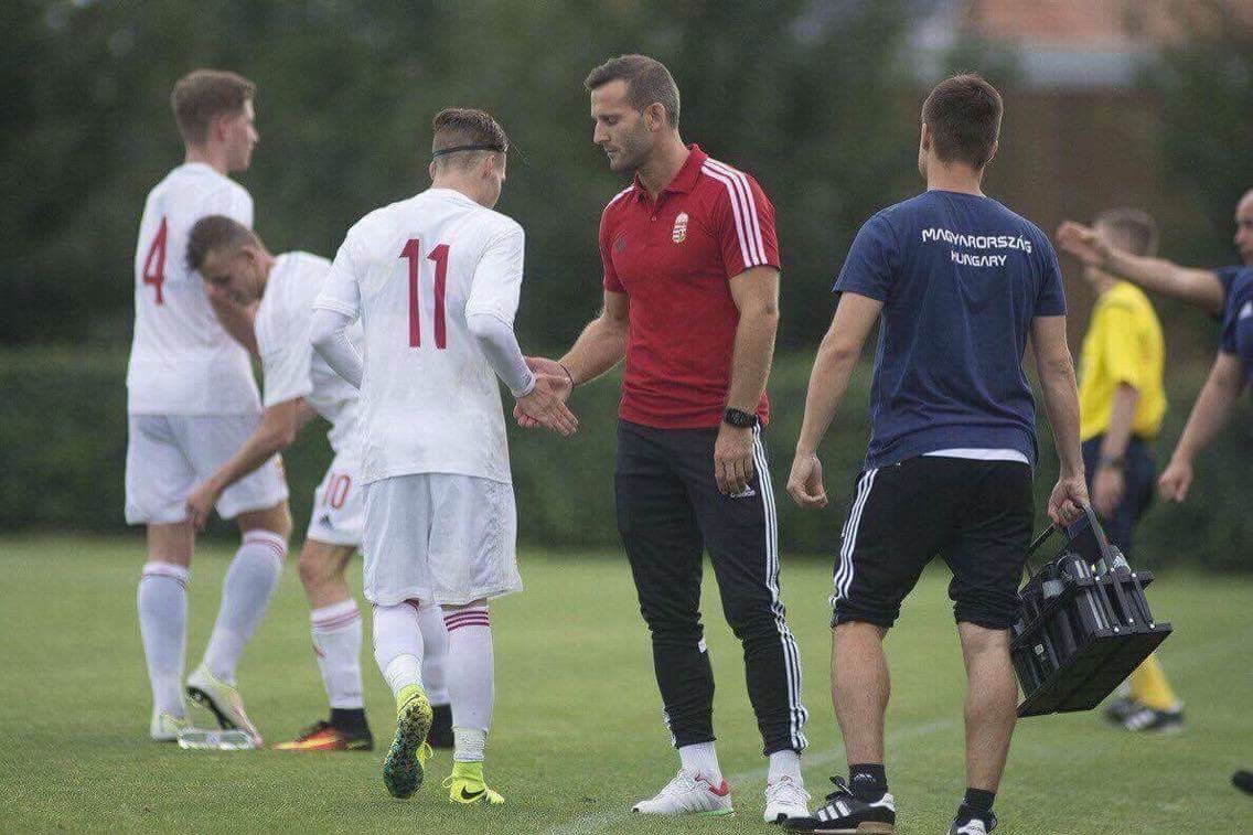 Horváth Olivér Szélesi zoltán magyar u17 válogatott Hungary