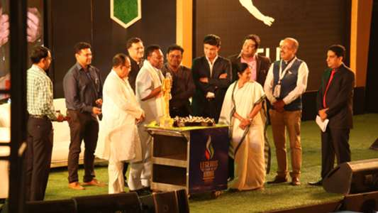 Pele's birthday being celebrated in kolkata with  Mamta Banerjee