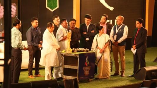 Pele's birthday being celebrated in kolkata with  Mamta Banerjee