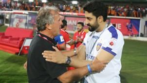 Zico Abhishek Bachchan FC Goa Chennaiyin FC ISL season 3 2016