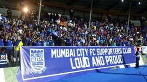 Mumbai City FC supporters ISL 2017/18
