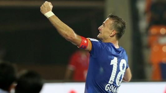 Lucian Goian Mumbai City FC Kerala Blasters FC ISL season 3 2016
