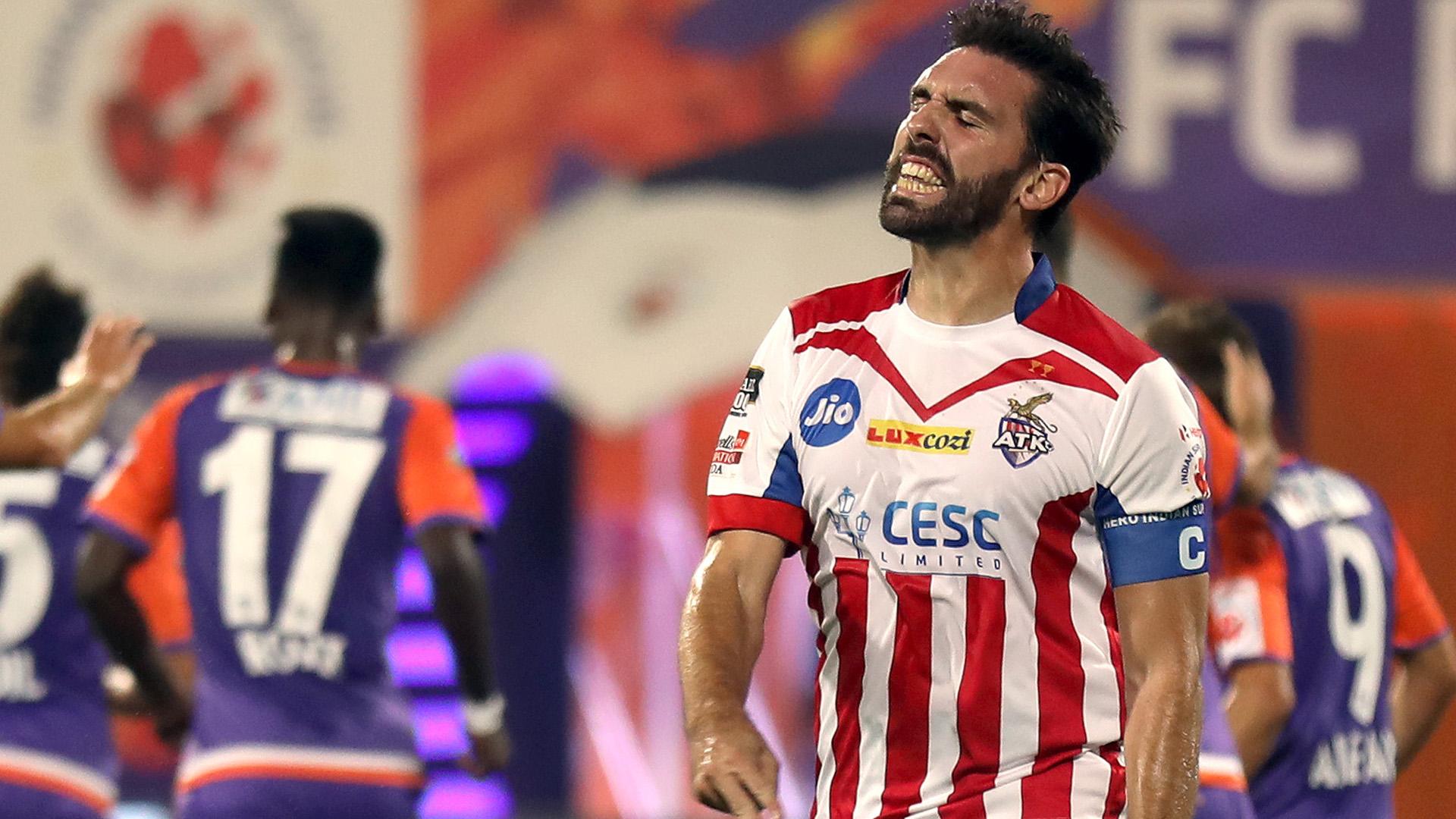 Jordi Figueras FC Pune City ATK ISL 4 2017/2018