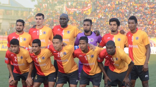 East Bengal Bengaluru FC I-League 2017