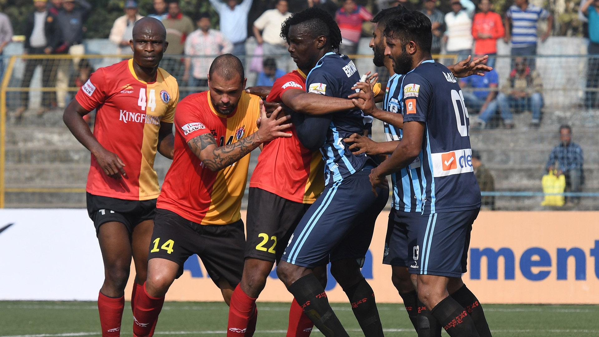 East Bengal Minerva Punjab FC I-League 2017/2018