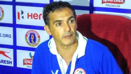 Manuel Retamero Aizawl FC I-League
