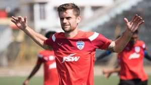 Cameron Watson Bengaluru FC training session
