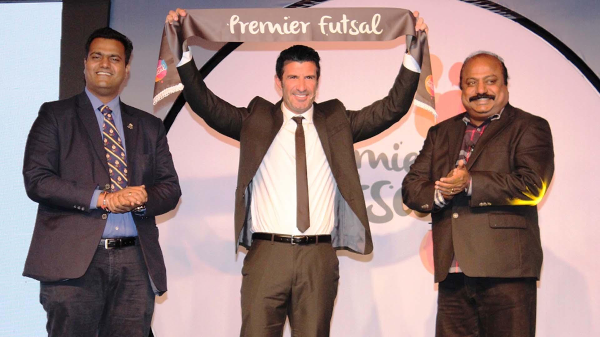 Luis Figo Premier Futsal India