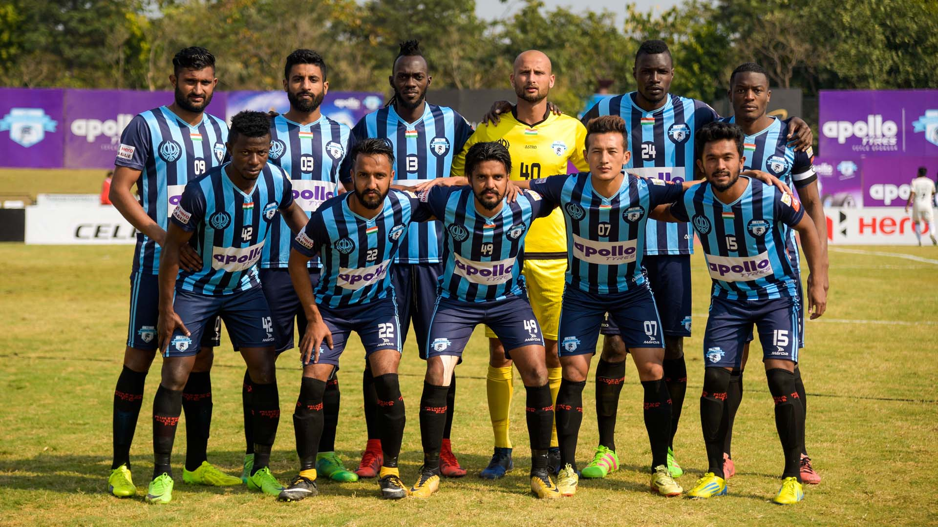 Minerva Punjab FC I-League 2017/2018