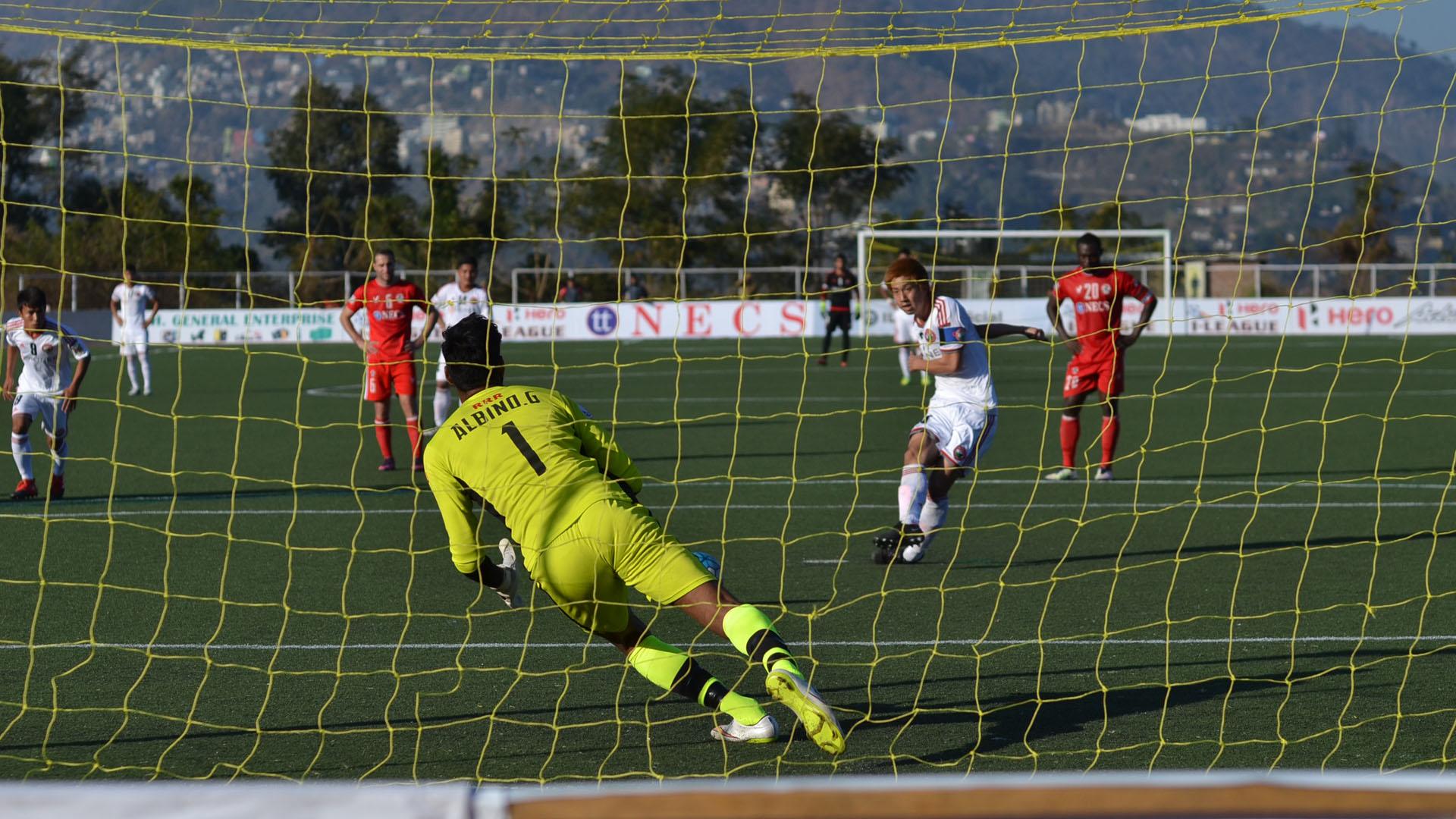 Yuta Kinowaki Aizawl FC Shillong Lajong FC I-League 2017