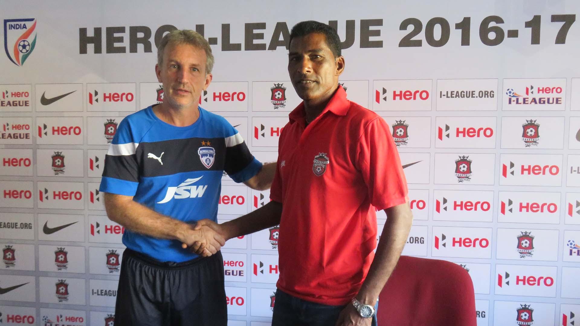 Albert Roca Alfred Fernandes Churchill Brothers Bengaluru FC I-League 2017
