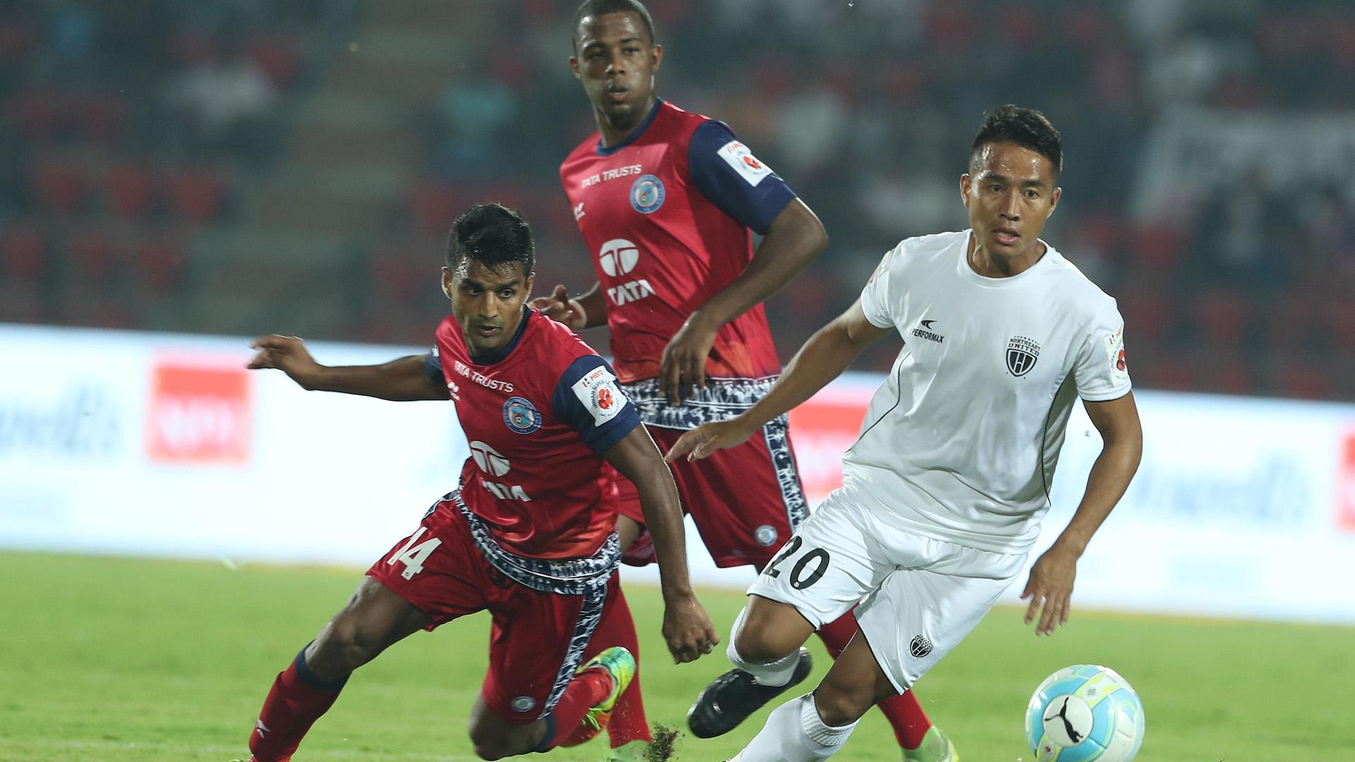 Lalrindika Ralte NorthEast United FC Jamshedpur FC ISL Season 4 2017/2018