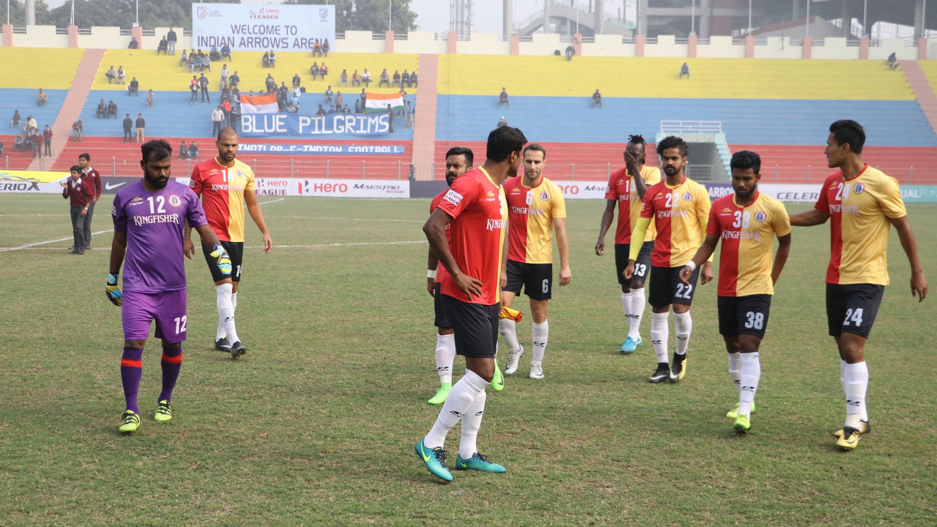 Indian Arrows East Bengal I-League 2017/2018