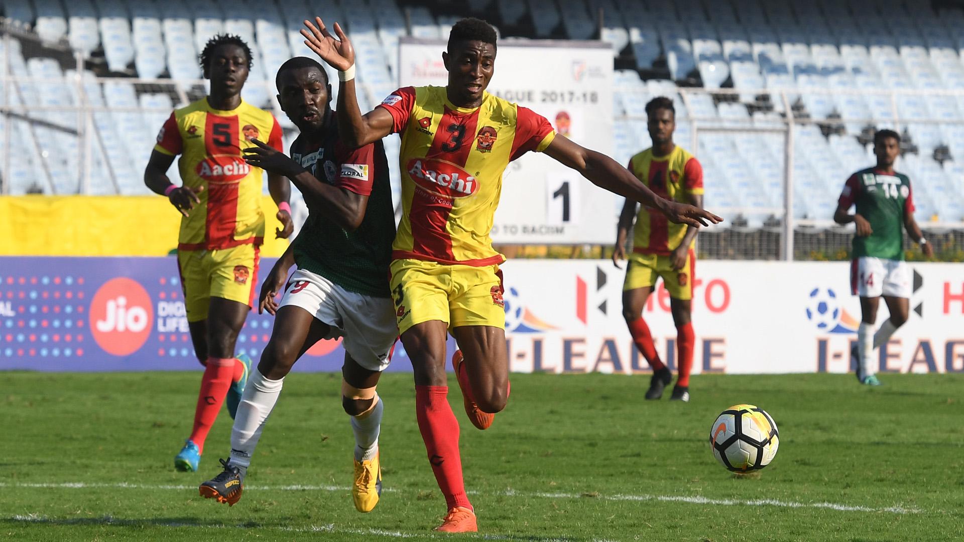 Emmanuel Chigozie Mohun Bagan Gokulam FC I-League 2017/2018