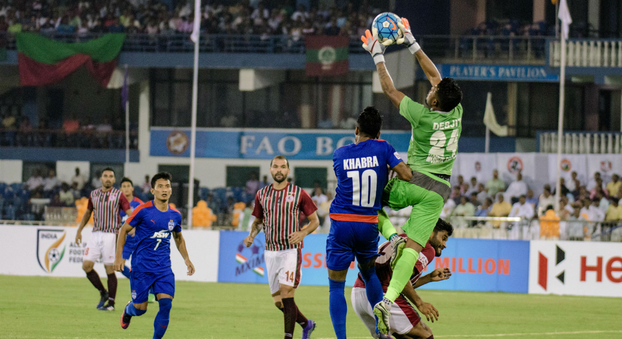 Bengaluru FC Mohun Bagan Federation Cup Final 2017