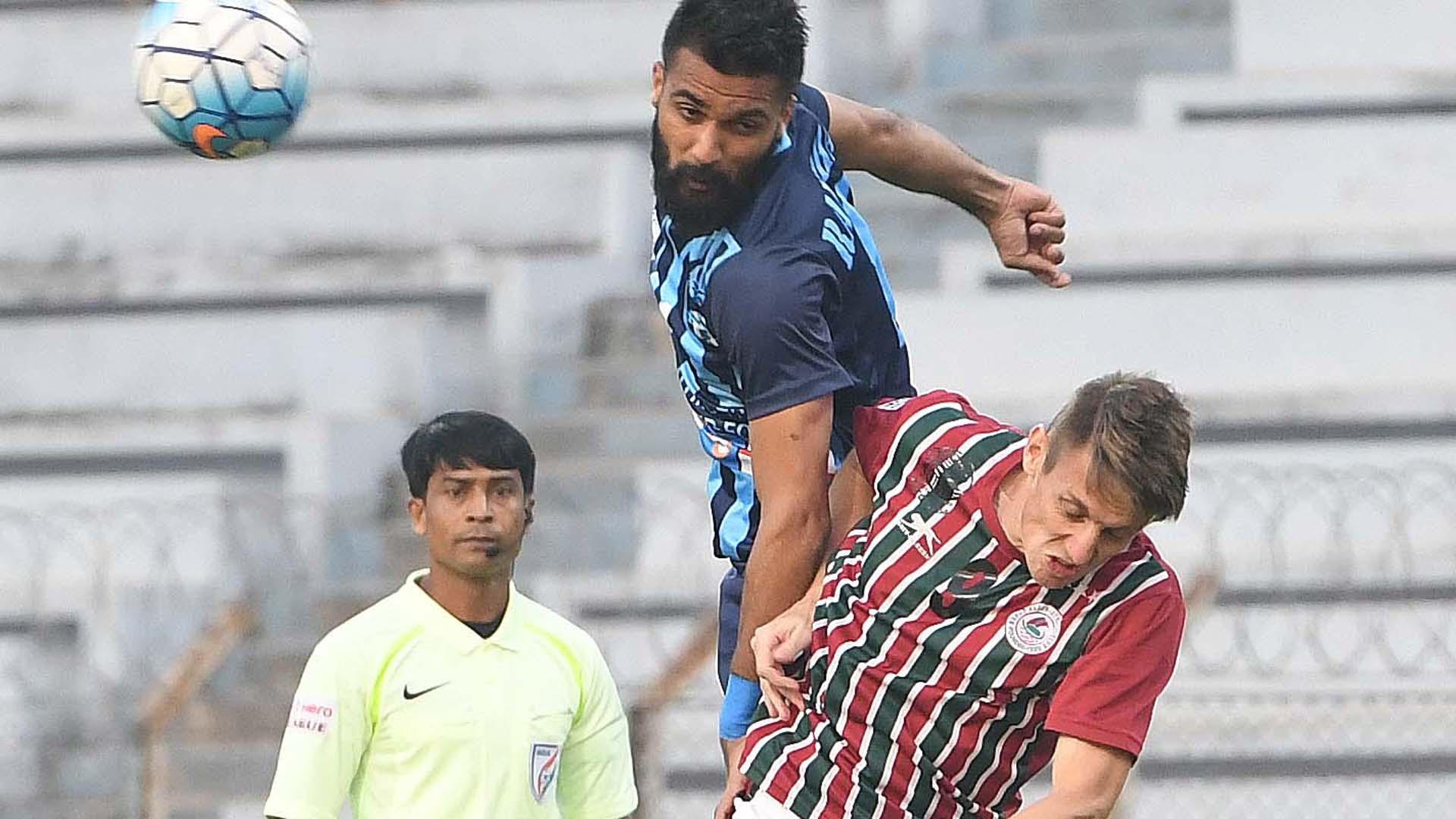 Mohun Bagan Minerva Punjab FC I-League 2017