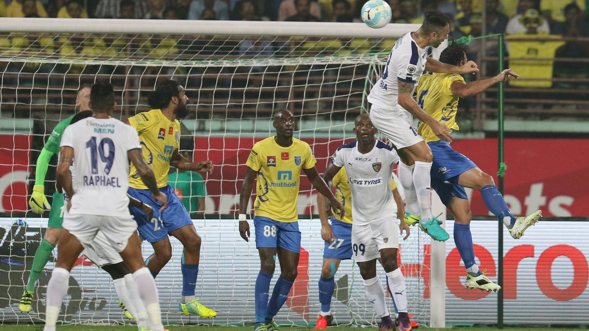 Kerala Blasters FC Chennaiyin FC ISL season 3 2016