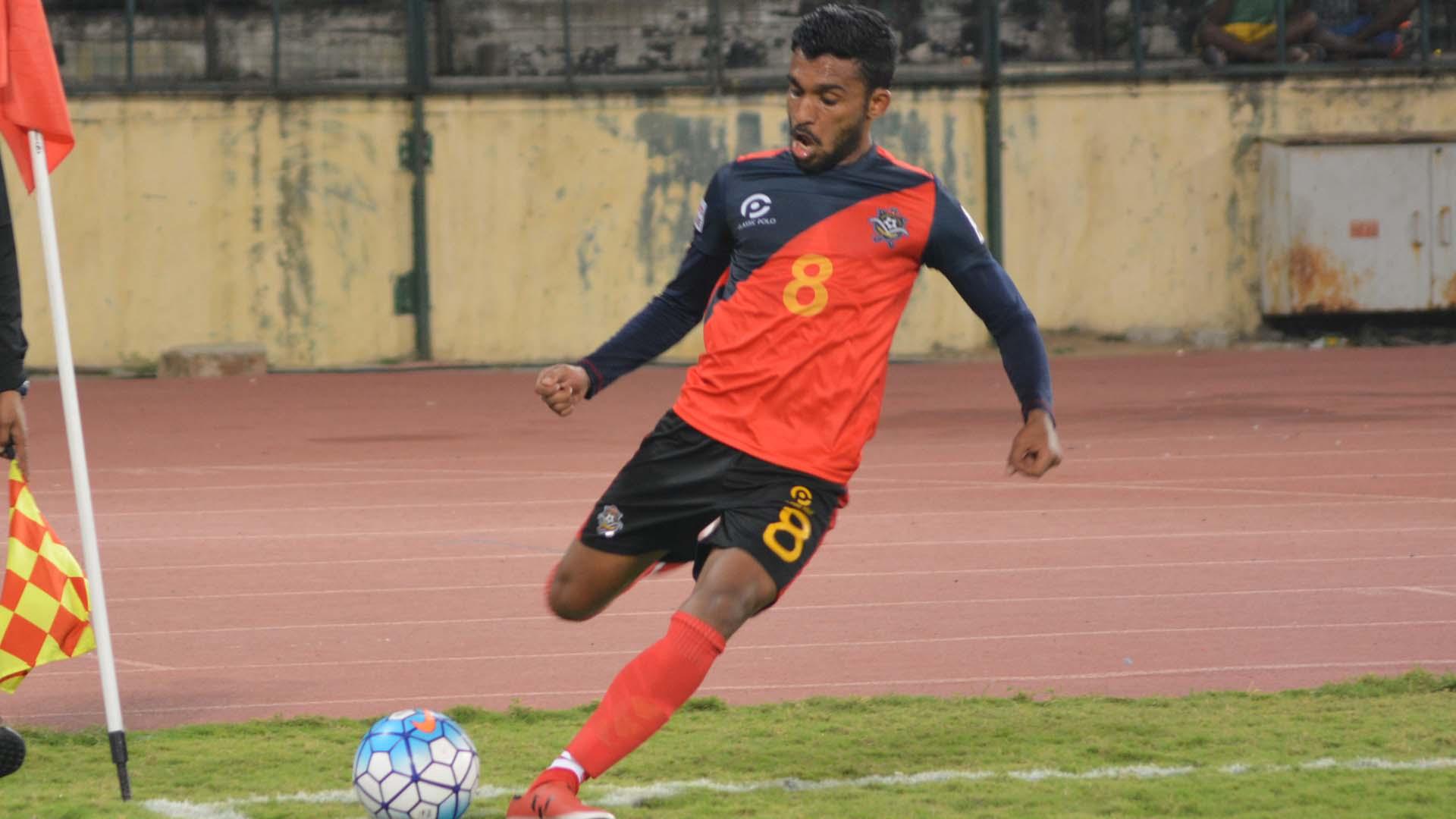 Vanspaul Chennai City FC Churchill Brothers SC I-League 2017