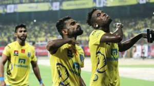 C K Vineeth Kerala Blasters FC NorthEast United FC ISL season 3 2016