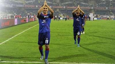 Sunil Chhetri Mumbai City FC NorthEast United FC ISL season 2