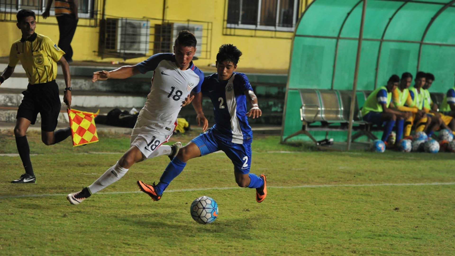 India U-16 USA AIFF Youth Cup 2016