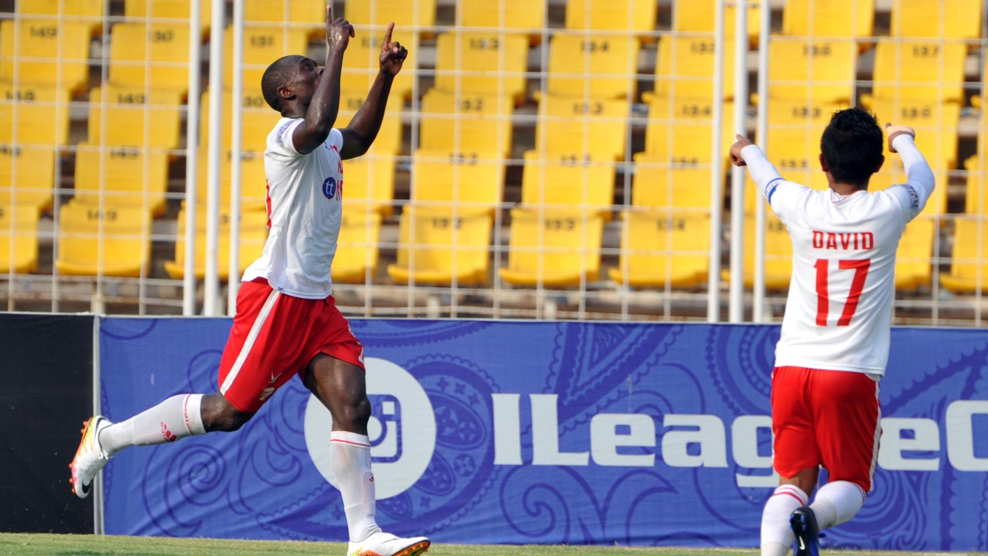 Alfred Jaryan Sporting Clube de Goa Aizawl FC I-League