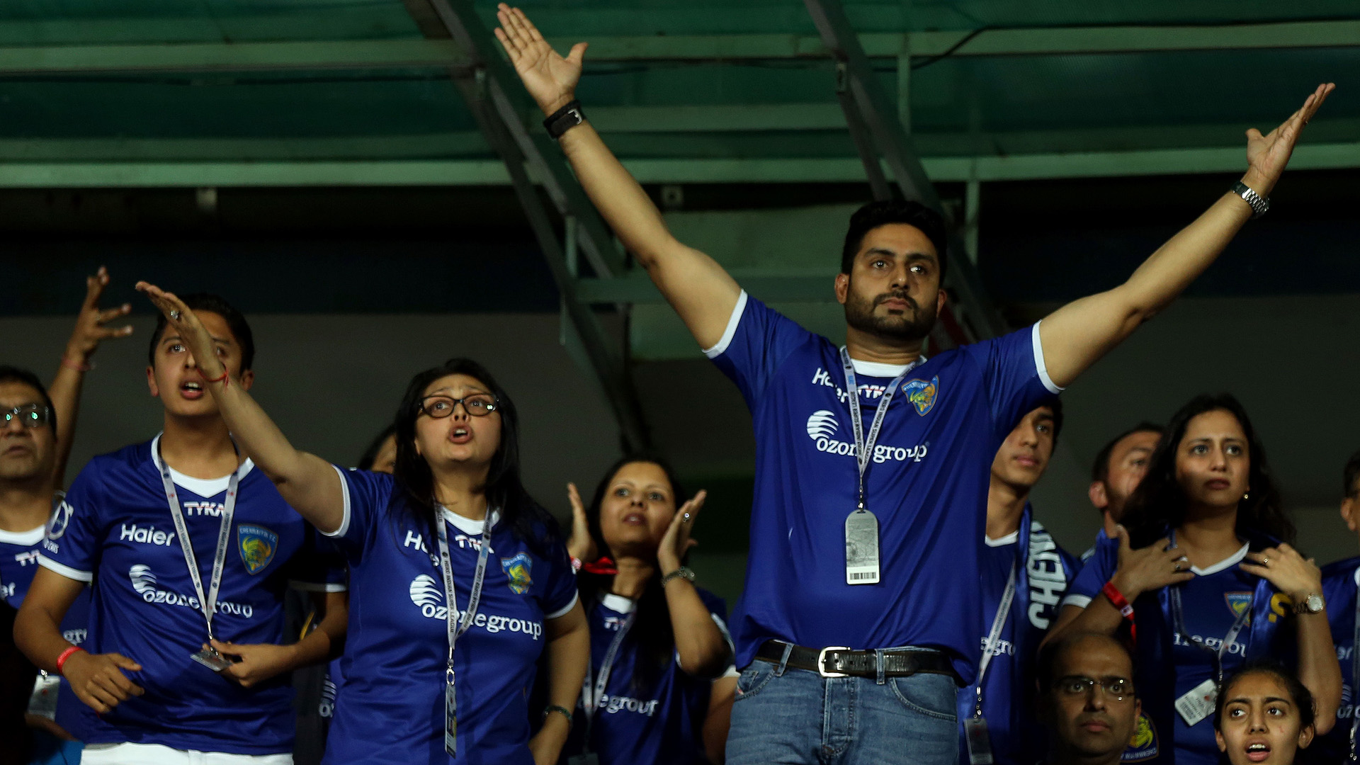 Abhishek Bachchan FC Goa Chennaiyin FC ISL season 2