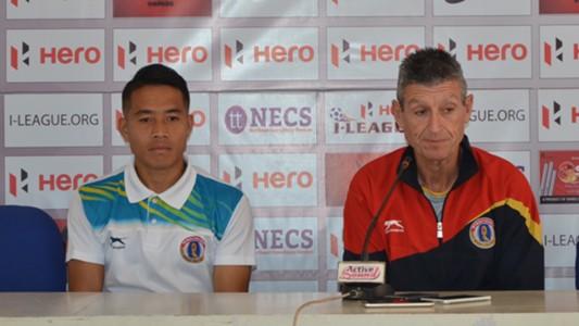 Lalrindika Ralte Trevor Morgan East Bengal FC I-League 2017